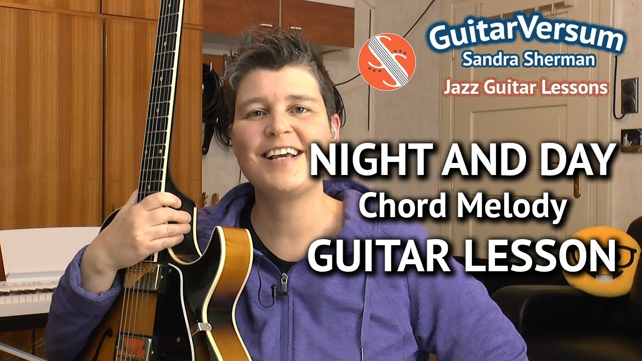 Night And Day Chord Melody Guitar Lesson Tutorial Tabs Youtube