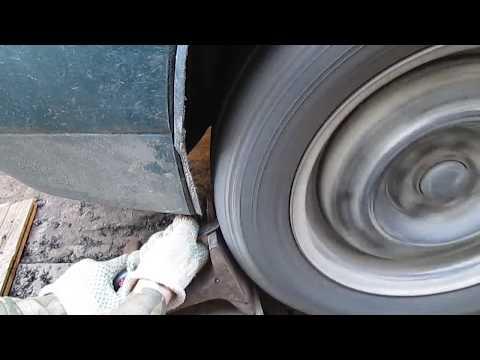 Видео: Бьёт колесо