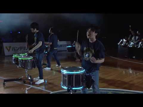Drum Performance Group「鼓和-core-」   2018/4/28 横浜ビー・コルセアーズ  オープニングアクト