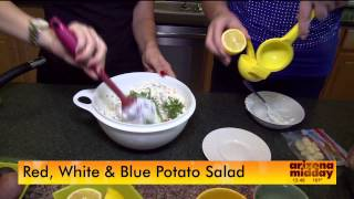 Patriotic Potato Salad