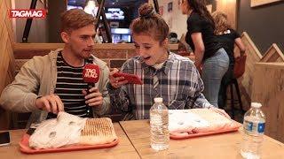 Jamie-Lee en Fabian gaan de Giga Tacos Challenge aan! 🌯