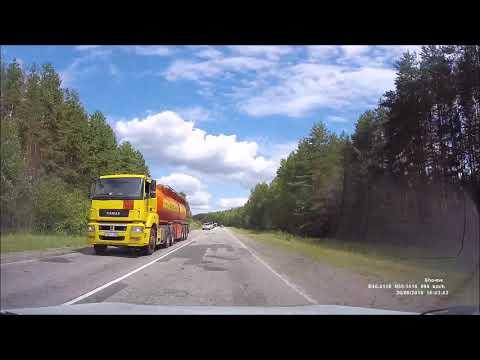 Егорьевское шоссе. Вход в Рязанскую область - обход Спас-Клепиков - Тума - Касимов.