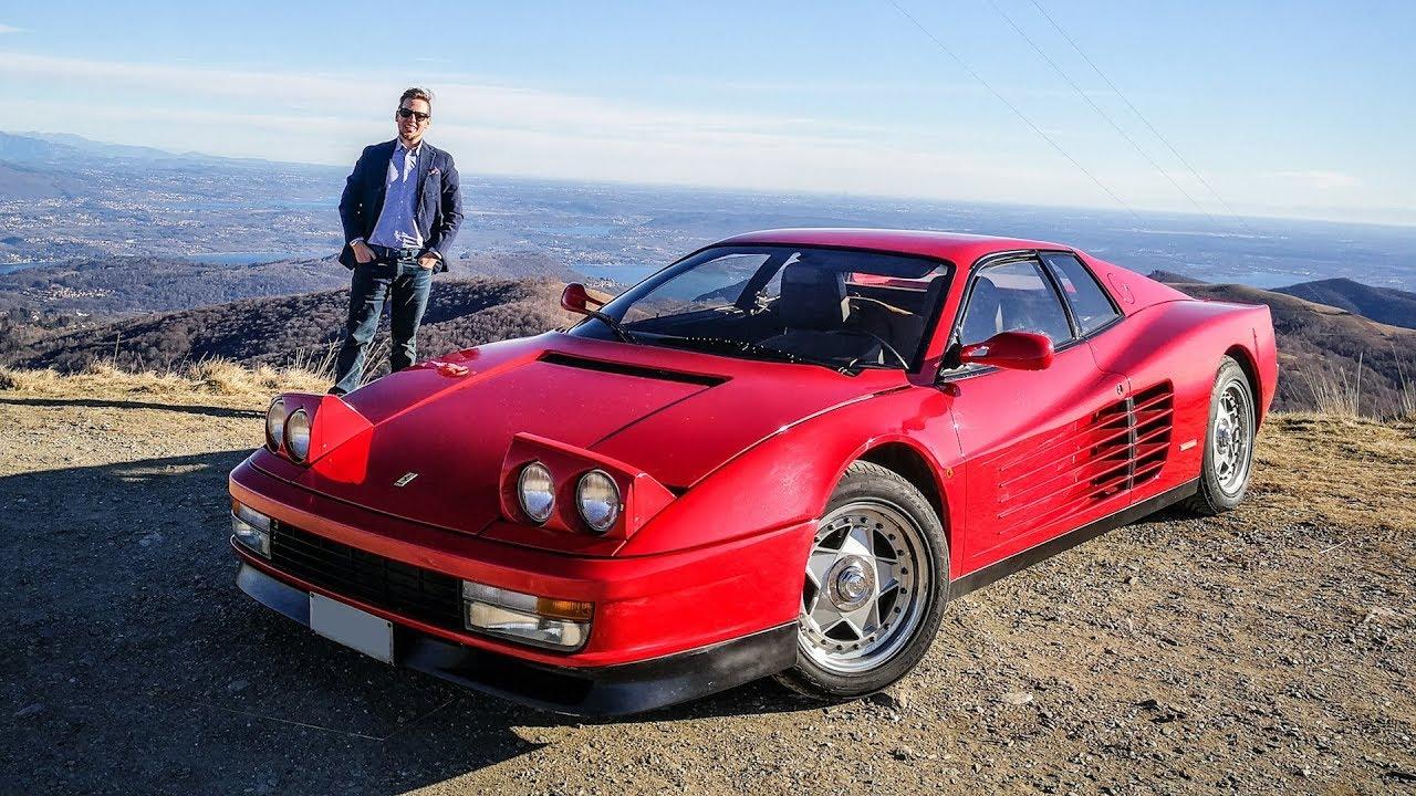 The Ferrari Testarossa Is The Myth Of The 80 S Sub Eng Youtube