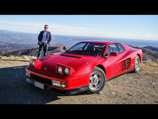 The Ferrari Testarossa is the Myth of the 80's! [Sub ENG]