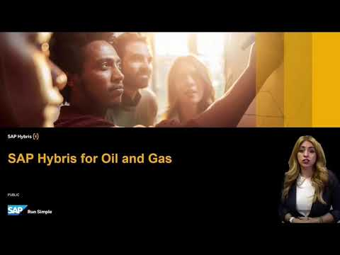 SAP Hybris for Oil and Gas 2