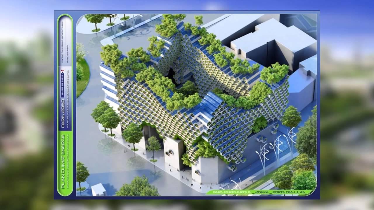 The Smart City Paris 2050 Youtube