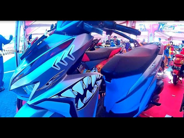 Modif Simple All New Vario 150 Cutting Sticker Decal