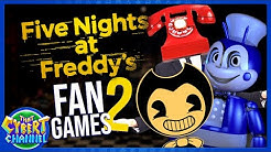 FNAF Fan Games 2: Jolly, Dayshift at Freddy's, & More! 🔴 That Cybert Channel