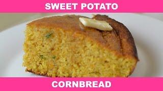 Cast Iron Skillet Sweet Potato Cornbread