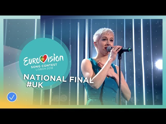 SuRie - Storm - United Kingdom - National Final Performance - Eurovision 2018