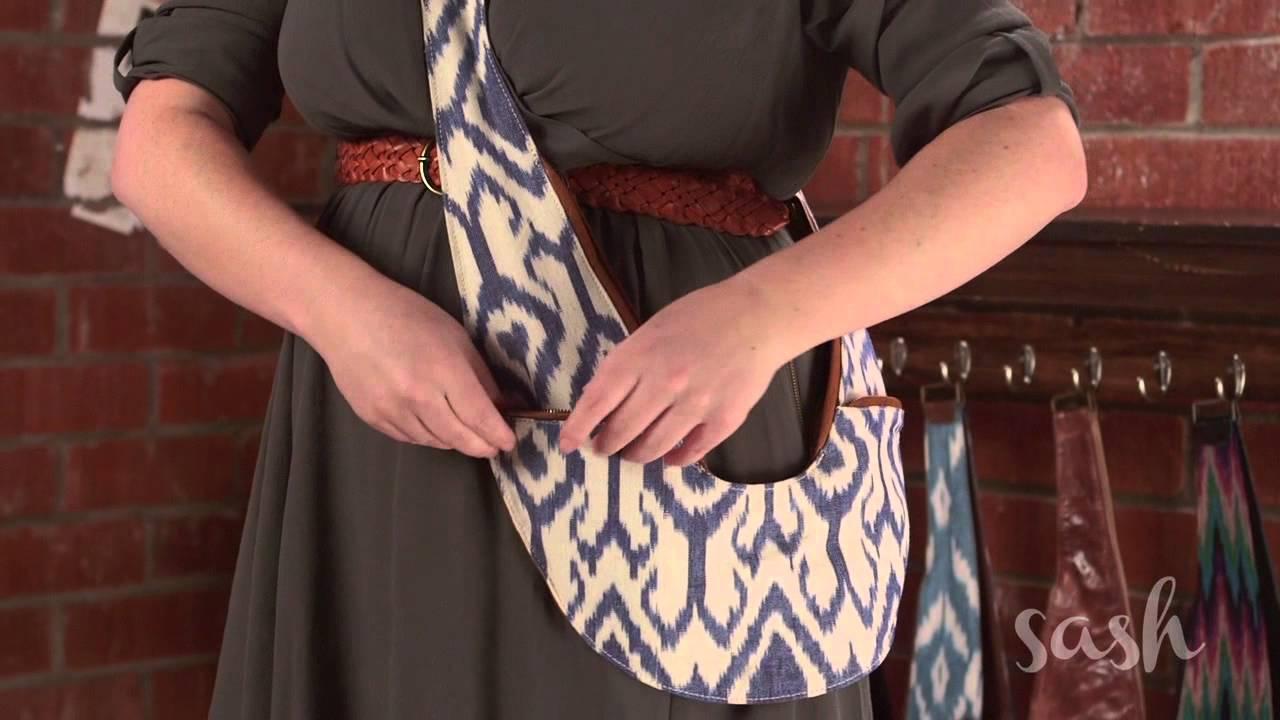 Introducing the Sash Bag! - YouTube 3655535a4d0c