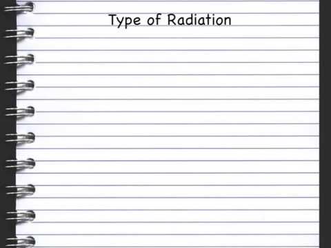 Uses of Radiation - Irradiating  Food