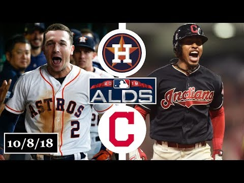 Houston Astros vs Cleveland Indians Highlights || ALDS Game 3 || October 8, 2018