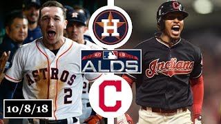 Houston Astros vs Cleveland Indians Highlights || ALDS Game 3 || October 8, 2018