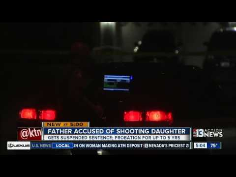 Father accused of shooting daughter gets suspended sentence