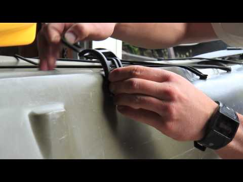 Horizontal Rod Holder, Installing The Kit From Hobie Fishing
