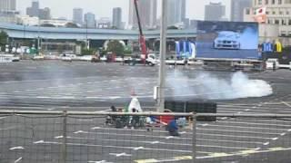 2010年、D1グランプリオールスターショーの上野さんの走りです。