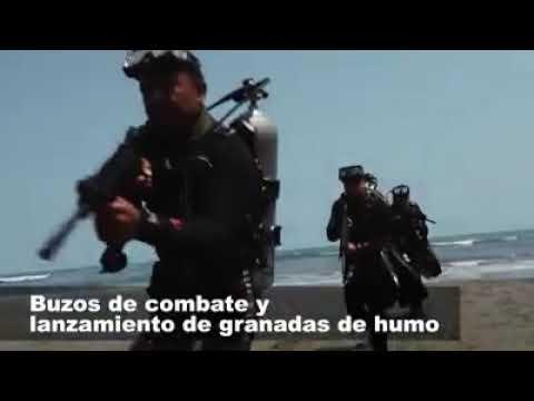Mexican Marines Amphibious Beach Training 2018