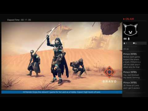 OneMoreDawn's PS4: Destiny (The Terrible Trio Tries Triples pt 2)
