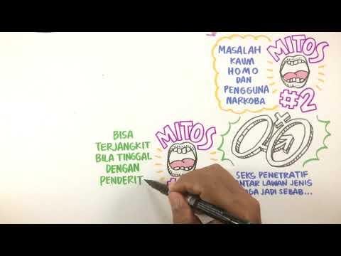 Sketsatorial: Mitos dan Fakta Seputar HIV dan AIDS