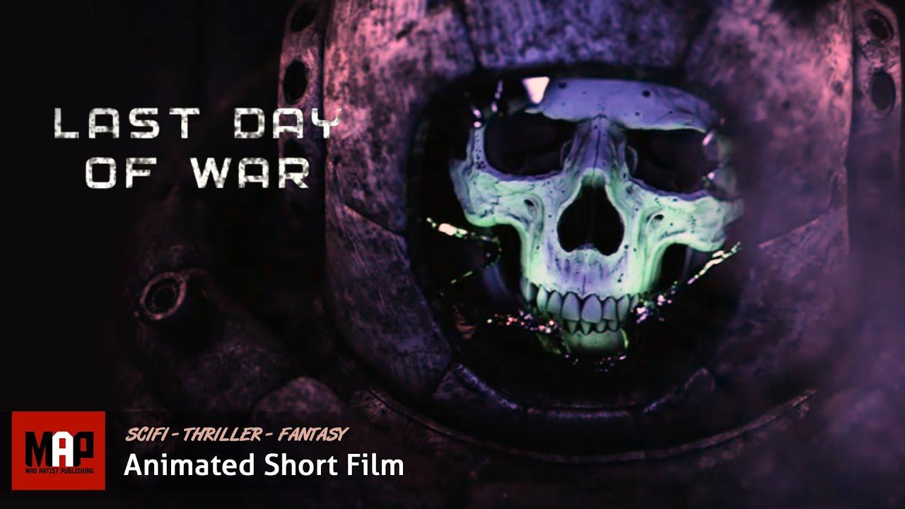 Free 3d Skull Wallpaper Cgi 3d Animated Short Film Quot Last Day Of War Quot Sci Fi