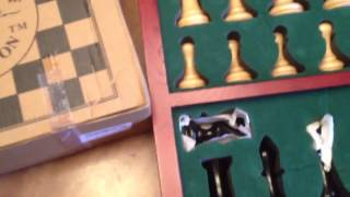 House of Staunton Empire Luxury Chess Set Overview Part 1
