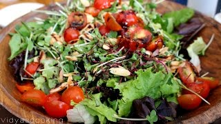 Gambar cover Micro Greens Salad Recipe in Tamil