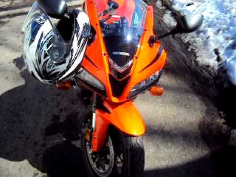2008 CBR 600RR Review