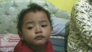 Asraf Kriwul Kecil Bangun Tidur-vidio lucu anak kecil-funny video