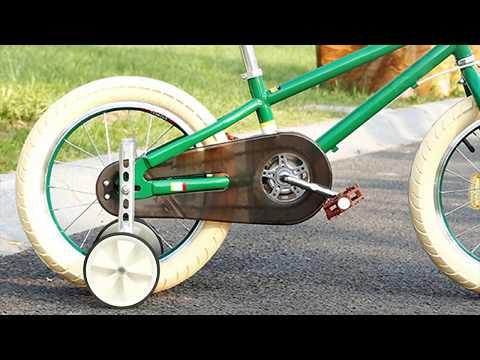 "GPCT2139 - Bicycle Training Wheels Adjustable Kids Children Bike Stabilizer Wheel for 12""- 20"" Bike"