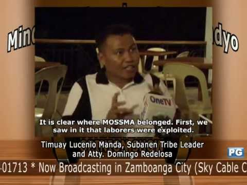 Mindanao Examiner Tele-Radyo Nov. 12, 2012 - Press Conference Timuay Lucenio Manda