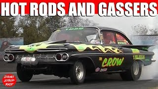 2013 Jalopy Showdown Drags Exhibition Hot Rods Rd 1 Gassers Nostalgia Drag Racing Videos
