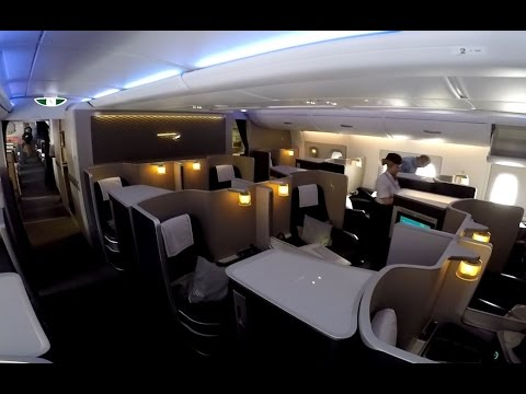 British Airways FIRST CLASS on the A380 full flight video review HD