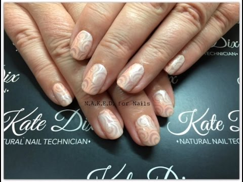 Ombre stamping over gel ii easy nail art youtube prinsesfo Images