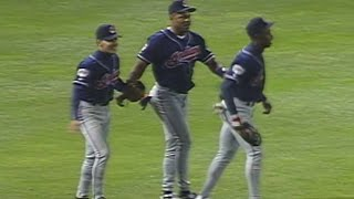 1995 ALDS Gm3: Indians get final out, advance to ALCS