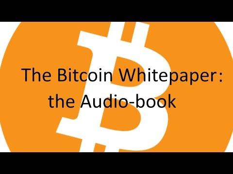 Bitcoin whitepaper audio-book w/ audio-descriptive images