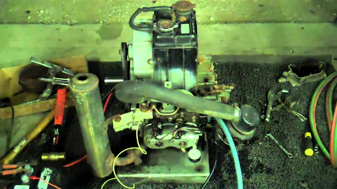 Diesel Engine Working >> Kubota Zb600c-1 Diesel engine - YouTube