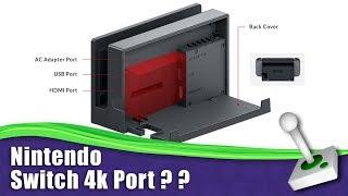 nintendo switch 4k dock expansion port g4x talk rumour rumor speculation