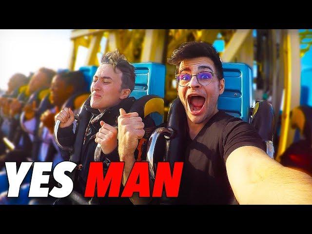 DIRE OUI À TOUT PENDANT 24H (Yes Man Challenge #3 feat. HUGOPOSAY)