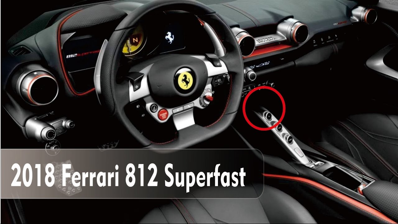 Watch It Ferrari 812 Superfast Lives Up To Its Name Youtube