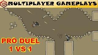 DA2 Mini Militia Pro Duel in Catacombs | MiLiTian(fake CiC) vs DeadPool