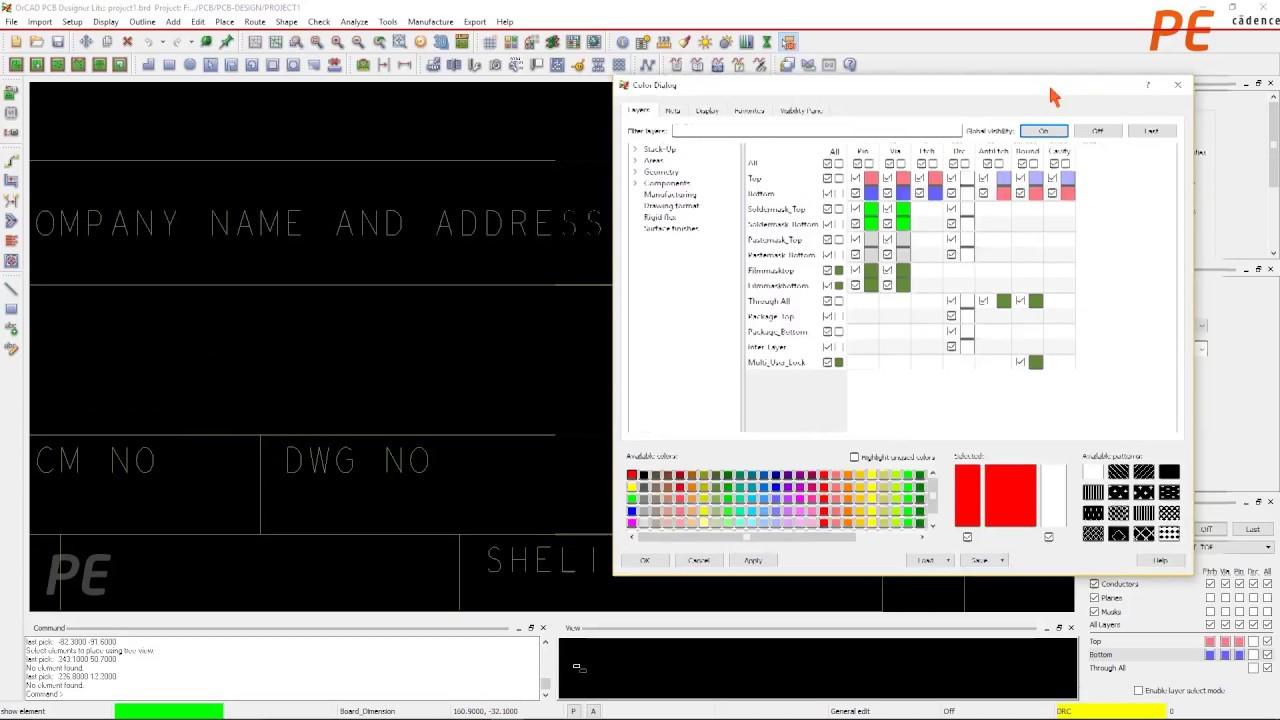 PCB Design Tutorial_57 Orcad Pcb Editor Fabrication Drawing Creation