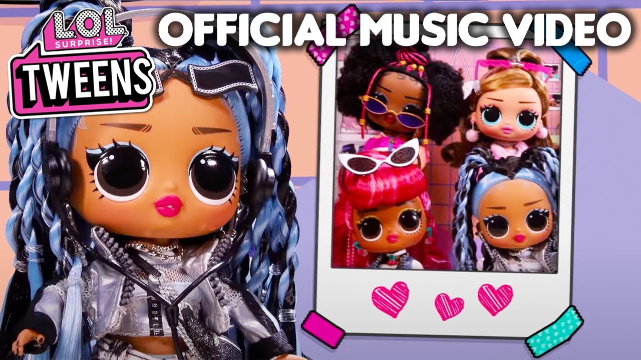 Download SOMEWHERE IN BETWEEN   Official Animated Music Video   LOL Surprise Tweens