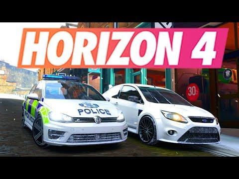Forza Horizon 4 - POLICE VS VOLEURS #1 (RP) thumbnail
