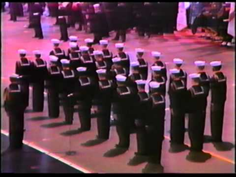 US Navy Graduation 1989