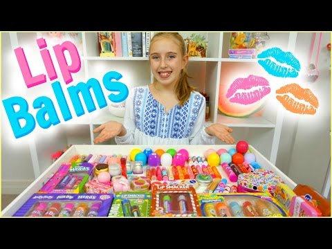 Lip Balm Collection & Haul - EOS, Baby Lips, Lip Smackers and More!