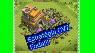 A melhor estratégia de ataque pra cv7!!! (Clash of Clans)