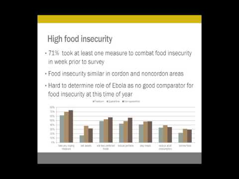 The economic impacts of Ebola, and rebuilding the healthcare system