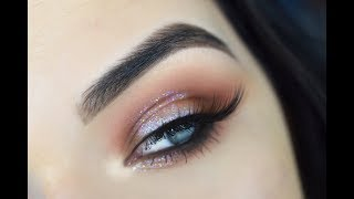 New Years Eye Makeup Tutorial   Morphe 39A + Holo Glitter