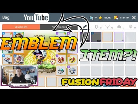 FusionFridays Episode 1- Attempting Emblem Items In Maplestory M